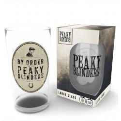 PEAKY BLINDERS - Large Glasses 500ml - By Order 174000  Glazen