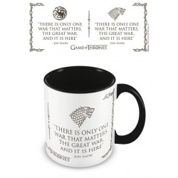 GAME OF THRONES - Coloured Inner Beker - War Black 174111  Drinkbekers - Mugs