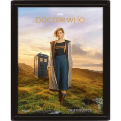 DOCTOR WHO - 3D Lenticular Poster 26X20 - 13th Doctor 174191  Lenticular Posters
