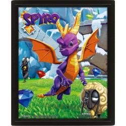 SPYRO - 3D Lenticular Poster 26X20 - Play Time 174192  Lenticular Posters