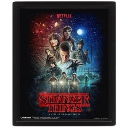 STRANGER THINGS - 3D Lenticular Poster 26X20 - One Sheet 174193  Lenticular Posters