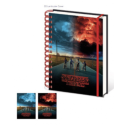 STRANGER THINGS - Lenticular Notebook A5 - Wiro - Mind Flayer 174362  Notitie Boeken