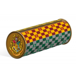 HARRY POTTER - Barrel Pencil Case - House Crests 174366  Penselen - Tekengerij