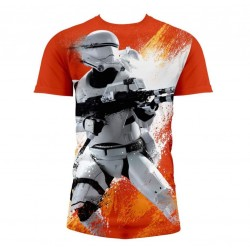 STAR WARS 7 - T-Shirt Flame...