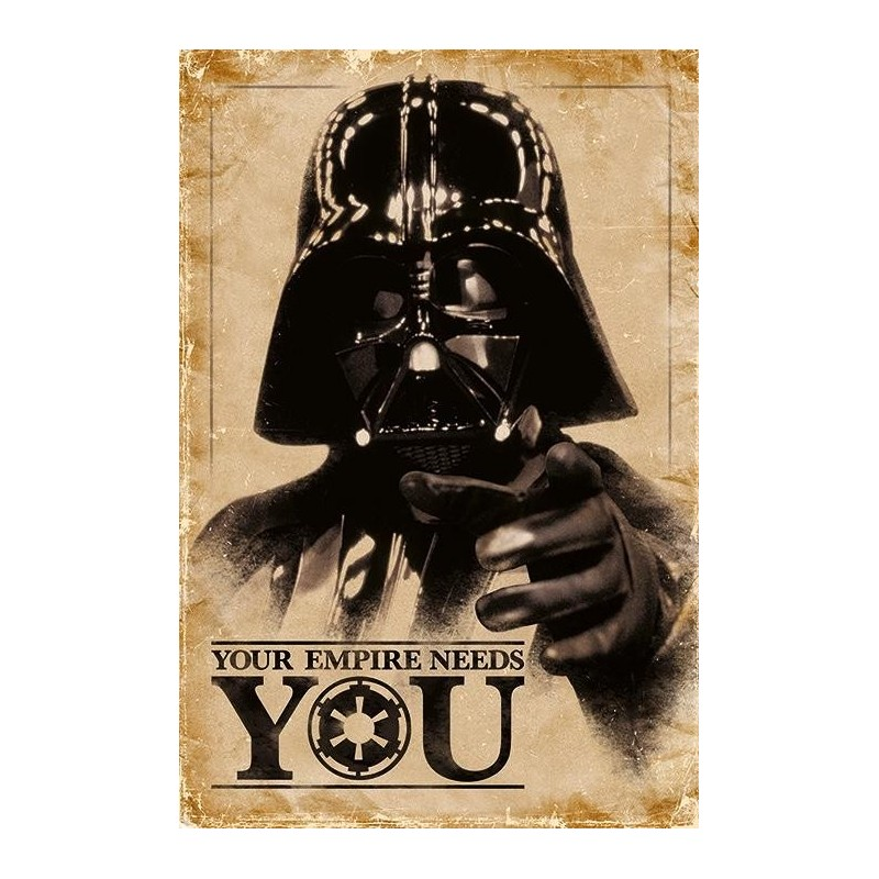 STAR WARS - Poster 61X91 - You Empire Needs You 167777  Allerlei