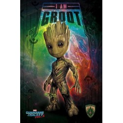 GUARDIANS OF THE GALAXY 2 - Poster 61X91 - I Am Groot 167774  Posters