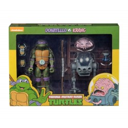TMNT - Action Figure - Donatello VS Krang - 18cm 174597  TMNT Teenage Mutant Ninja Turtles