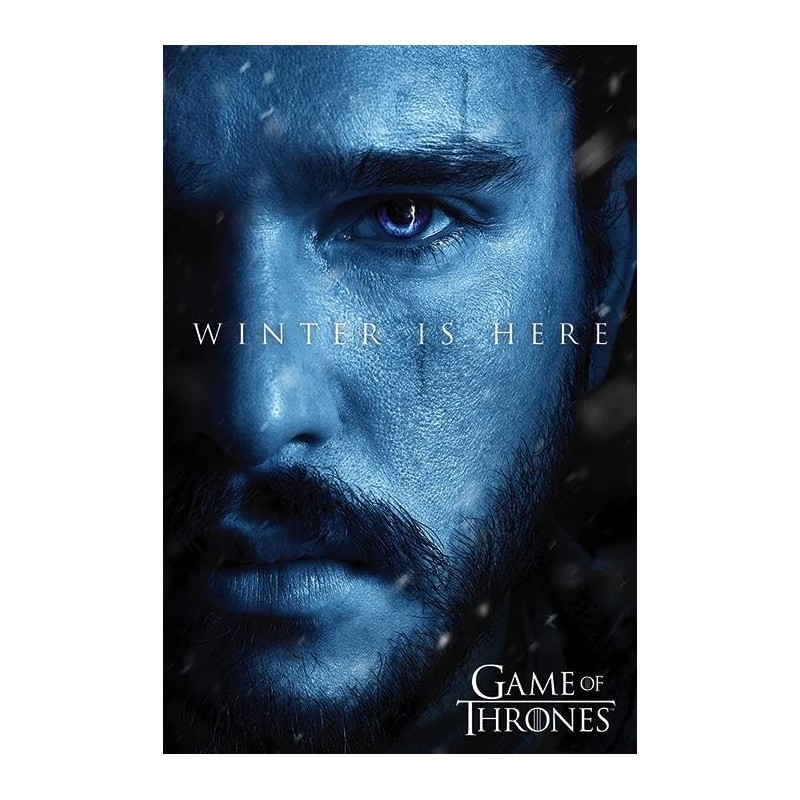 GAME OF THRONES - Poster 61X91 - Winter is Here - Jon 167770  Posters