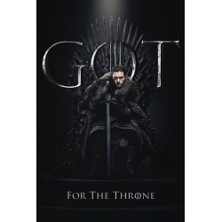 GAME OF THRONES - Poster 61X91 - Jon for the Throne 174647  Game Of Thrones