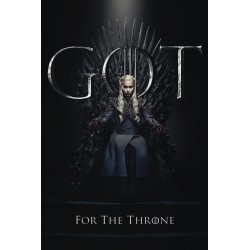 GAME OF THRONES - Poster 61X91 - Daenerys for the Throne 174648  Game Of Thrones