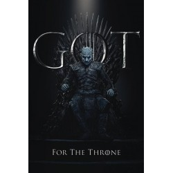 GAME OF THRONES - Poster 61X91 - The Night King for the Throne 174649  Game Of Thrones