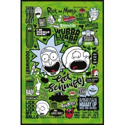 RICK & MORTY - Poster 61X91 - Quotes 167767  Posters