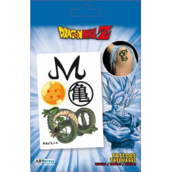 DRAGON BALL Z - Tattoos : Pack of 4 Tattoos 174926  Tattoos