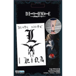DEATH NOTE - Tattoos : Pack of 4 Tattoos 174929  Tattoos
