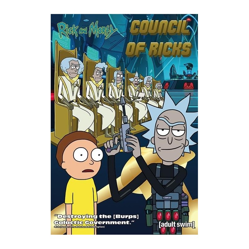 RIck & Morty - Poster 61X91 - Council of Ricks 167759  Posters