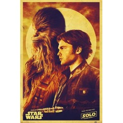 STAR WARS - Poster 61X91 - Solo : Han and Chewie 167758  Allerlei