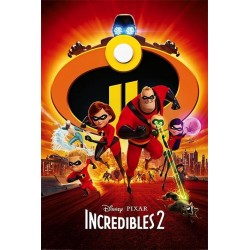 INCREDIBLES 2 - Poster 61X91 - One Sheet 167757  Posters