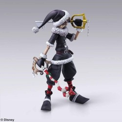 KINGDOM HEARTS III - Bring Arts figurine - Sora Christmas Town - 15cm 175094  Kingdom Hearts