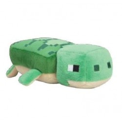MINECRAFT - Peluche Happy Explorer - Sea Turtle - 18cm 175107  Minecraft