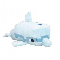 MINECRAFT - Peluche Happy Explorer - Dolphin - 18cm 175108  Minecraft