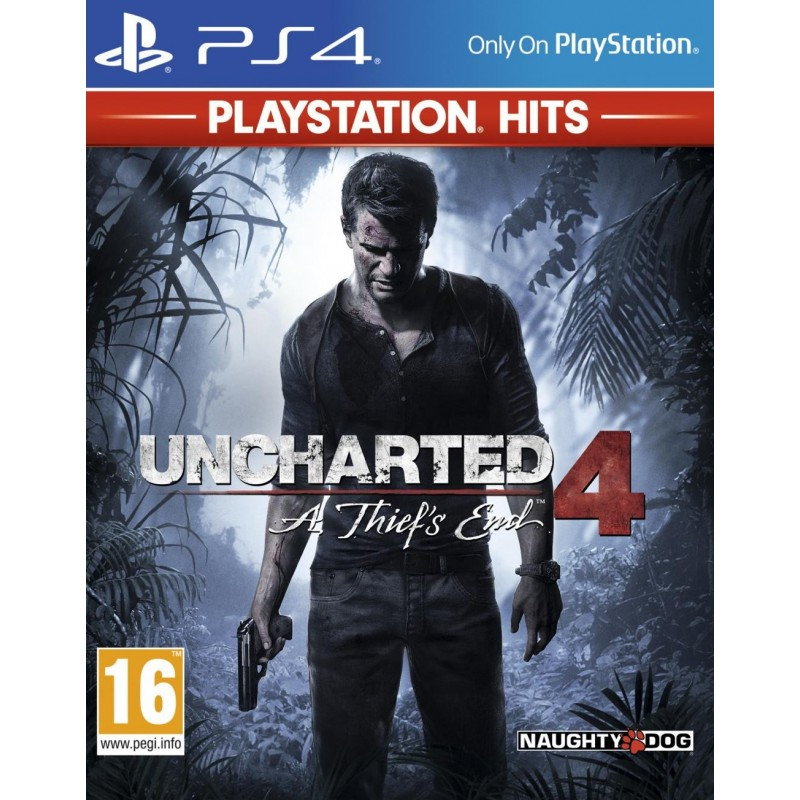 Uncharted 4 HITS (PS4 Only) 167744  Playstation 4
