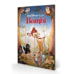 DISNEY - Printing on wood 40X59 - Bambi