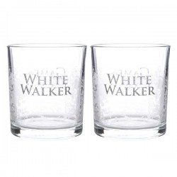 GAME OF THRONES - Tumblers Set of 2 - White Walker - Whiskey Glazen