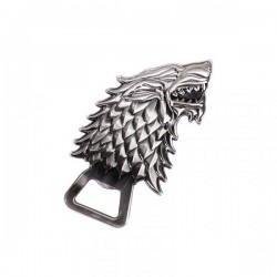 GAME OF THRONES - Sculpted Bottle Opener - Stark 175307  Nieuwe imports