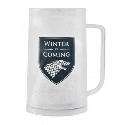 GAME OF THRONES - Freezer Tankard 400 ml - Stark 'Winter is Coming' 175309  Game of Thrones
