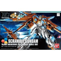 GUNDAM Build Fighters - Model Kit - HG 1/144 - Scramble Gundam 175567  High Grade (HG)