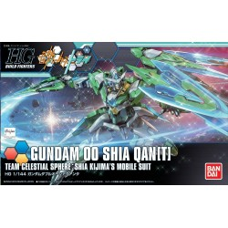 GUNDAM Build Fighters - Model Kit - HG 1/144 - Gundam OO Sia Qan(t) 175568  High Grade (HG)