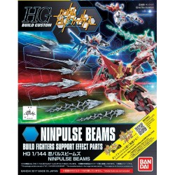 GUNDAM Build Fighters - Model Kit - HG 1/144 - ACC Ninpulse Beams 175571  Gundam