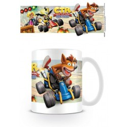 CRASH BANDICOOT - Beker - 315 ml - CTR Fight for First Place