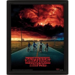 STRANGER THINGS - 3D Lenticular Poster 26X20 - Mind Flayer 175841  Magnetische Posters