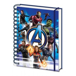 AVENGERS ENDGAME - Notebook A5 - To Action 175846  Notitie Boeken