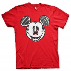 DISNEY - T-Shirt - Mickey Mouse Pixelated Sketch (S) 174388  T-Shirts