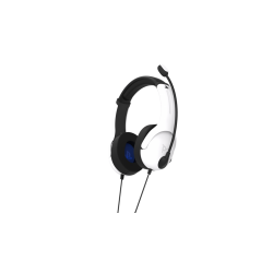 Official Playstation Wired Headset LVL40 PS4 White 175912  PS4 Headsets