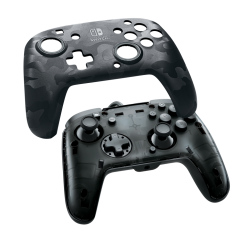 Official Faceoff Deluxe+ Audio Wired Black Controller - Nintendo Switch 175938  Nintendo Switch Accessoires