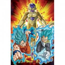 DRAGON BALL SUPER - Poster 91X61 - Golden Freezer 175950  Dragon Ball