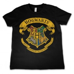 HARRY POTTER - T-Shirt KIDS Hogwarts Crest - Black (4 Years) 171303  T-Shirts Harry Potter