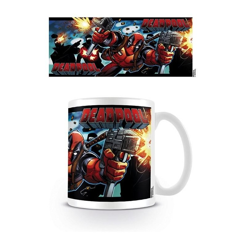 DEADPOOL - Beker - 300 ml - Shooting With Style
