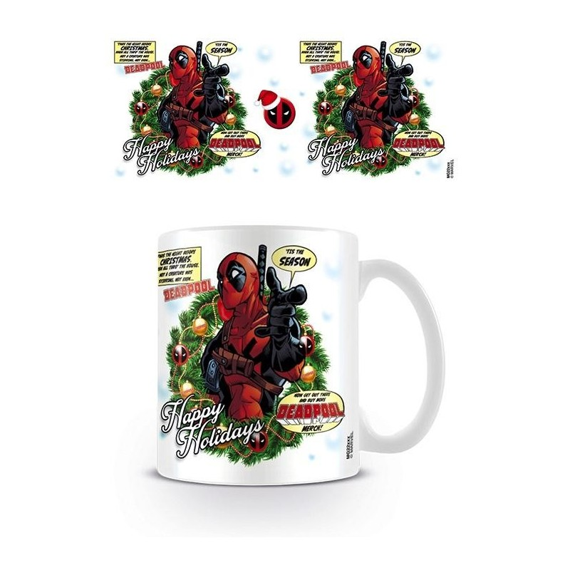 DEADPOOL - Mug - 300 ml - Tis The Season 167677  Drinkbekers - Mugs
