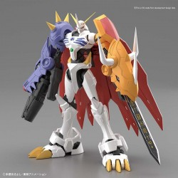 DIGIMON - Model Kit - Rise Digimon Omegamon Amplified - 12cm 176192  Digimon