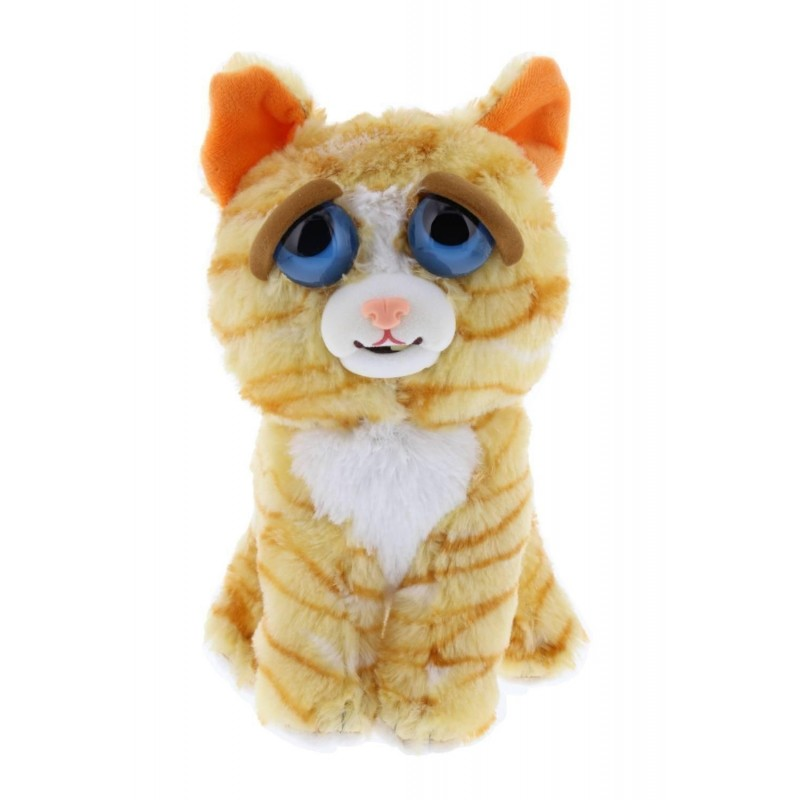 Feisty Pets - Plush 20cm - Orange Cat 167659  Knuffelberen