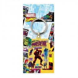 MARVEL - Metal Keychain -...