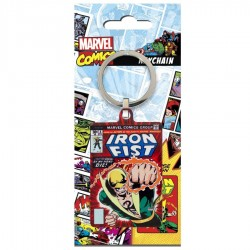 MARVEL - Metal Keychain - Iron Fist 176047  Sleutelhangers