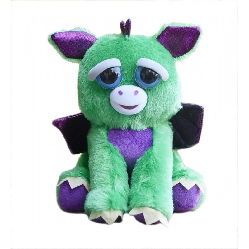 Feisty Pets - Plush 20cm - Dragon 167656  Knuffelberen