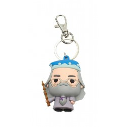 HARRY POTTER - Rubber Figure Keychain - Albus Dumbledore