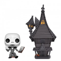 NIGHTMARE BEFORE CHRISTMAS - Bobble Head POP TOWN N° xx - Jack House 176358  Nightmare before Christmas