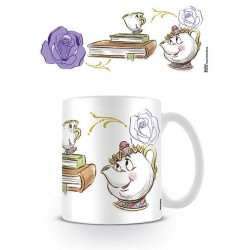 DISNEY - Beker - 300 ml - Beauty and the Beast - Chip Enchanted